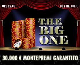 T.H.E. Big One 30mila euro