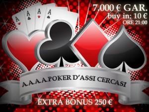 A.A.A.A. - Poker d'Assi cercasi