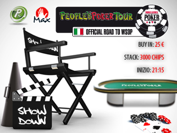 Continua lo spettacolo con il People's Poker ShowDown!