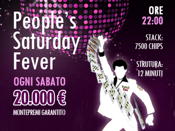 people's saturday fever