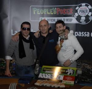 Nicola Aragon Abrusci, Vito Labarile e Paolo Lobefaro