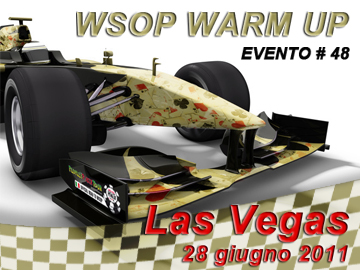 WSOP Warm Up Gold - evento 48 da 1.500 $