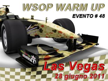 WSOP Warm Up Gold - evento 48 da 1.500 $