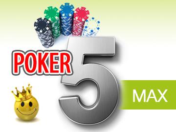 Il Poker5maX da 10 euro delle 17:30 più lento e con 6mila garantiti!