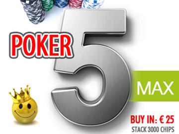 poker five max