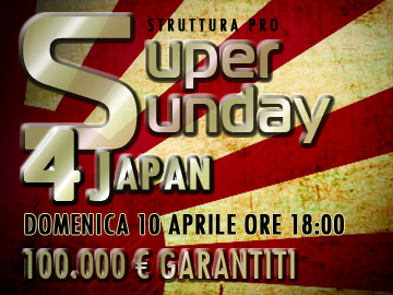 People's 4 people: Super Sunday in favore del Giappone