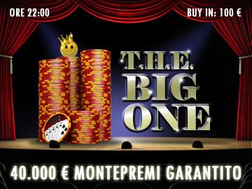 big one regala 40mila euro garantiti!