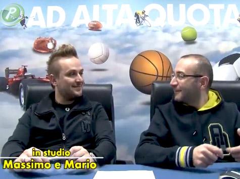 Oggi in onda: Ad Alta Quota con gli ottavi di finale della Coppa Italia!
