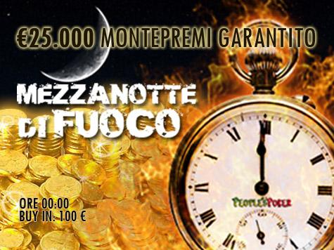 Mezzanotte di Fuoco… rilanciamo la sfida con 25mila euro garantiti!