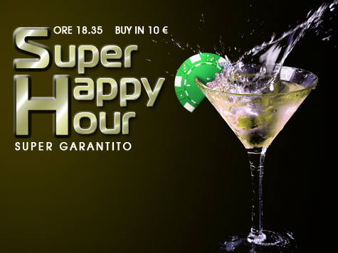 Ancora Super offerte nella People's Room:  con 10 euro vi farete un Super Happy Hour!