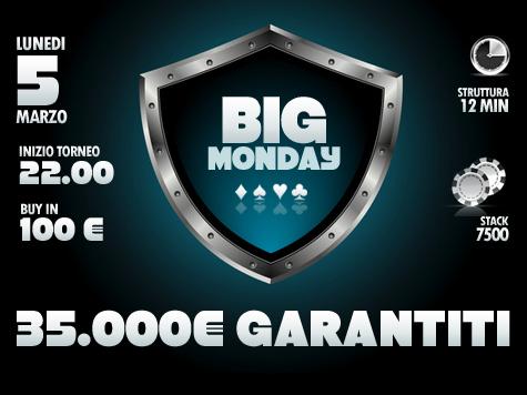 Il week-end d'oro in casa People's  finisce in un Gran Lunedì da 35mila Euro!