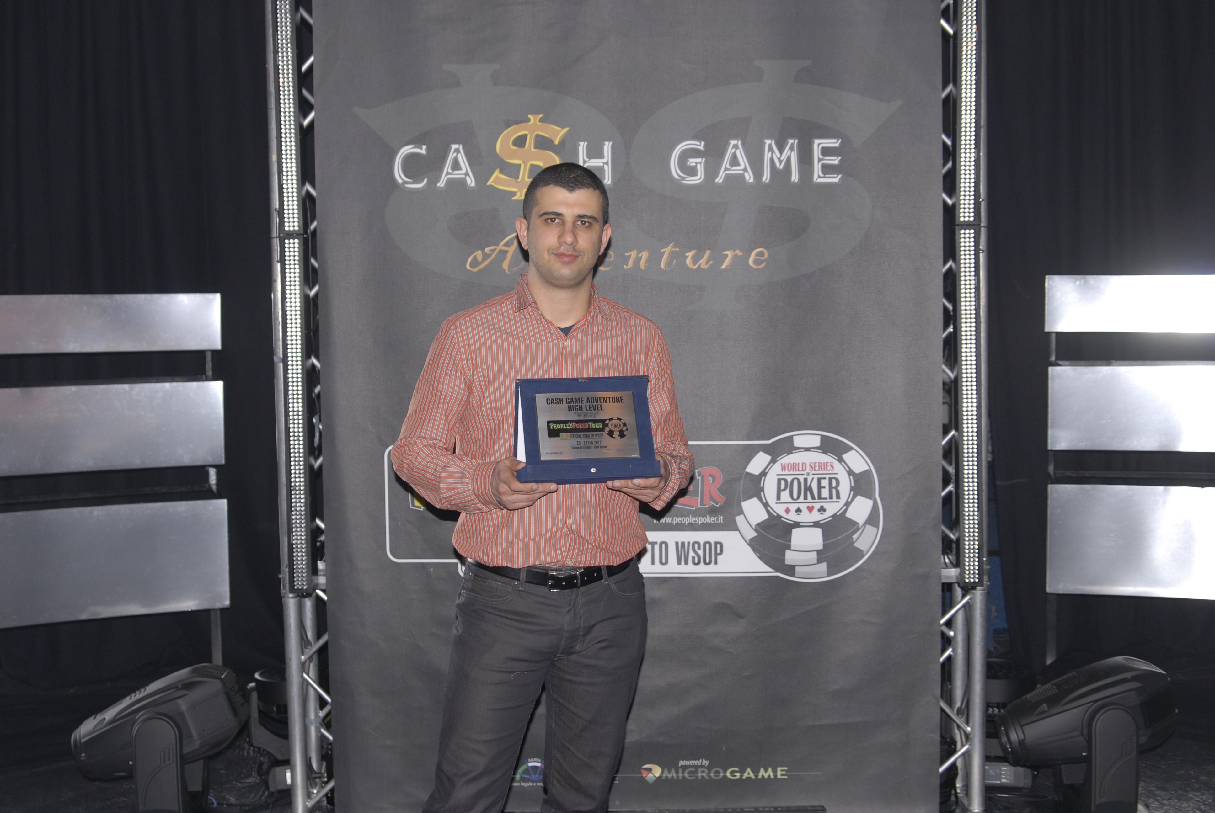 Con Leonardo Romeo vincitore del Cash Game Adventure si chiude un Day 1 B da record!