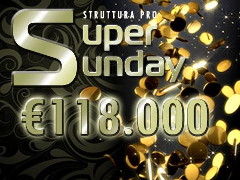 Panorama Tornei –  forann centra un Super Sunday da 118mila euro!