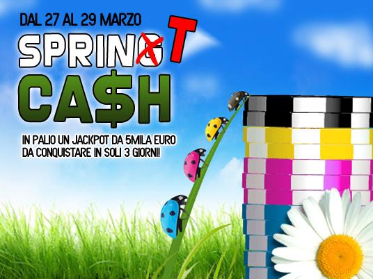 Su People's la primavera del Cash è SprinT: hai solo tre giorni per conquistare 5mila Euro!