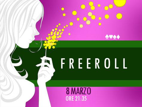 Festeggiamo la festa delle donne regalando un freeroll alle nostre ladies!