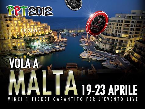 PPT Malta 2012: da stasera partono le qualificazioni online!