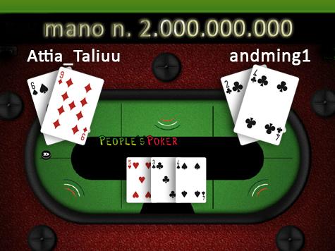 Mai previsione fu più profetica:  la mano 2milardi premia 2 giocatori!