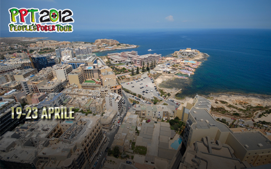 PPT 2012 – Malta, 19 – 23 aprile:  chip count, tavoli e classifiche in tempo reale
