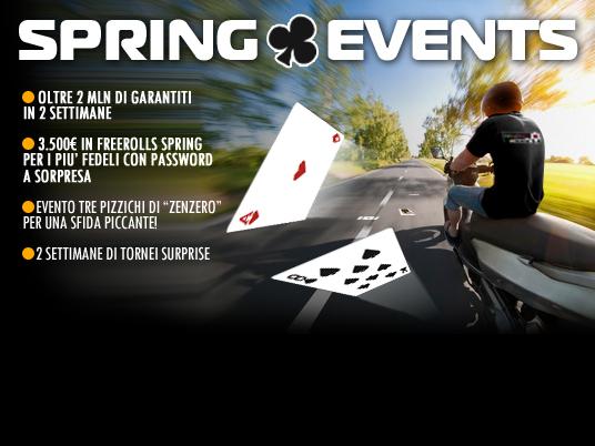 Questa sera alle 21:20 parte l'offerta dell'anno: uno scooter al prezzo di 35€… succede solo con People's Poker!