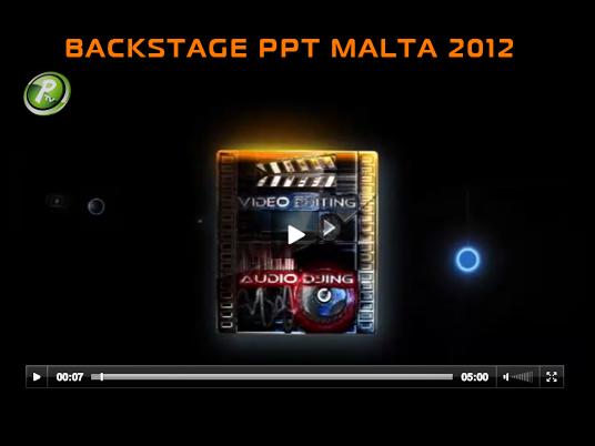 PPT Malta 2012: il backstage della seconda tappa è ora online!