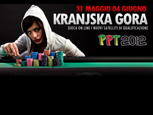 Kranjska Gora 2012: partono le qualificazioni per il terzo Evento del People's Poker Tour!
