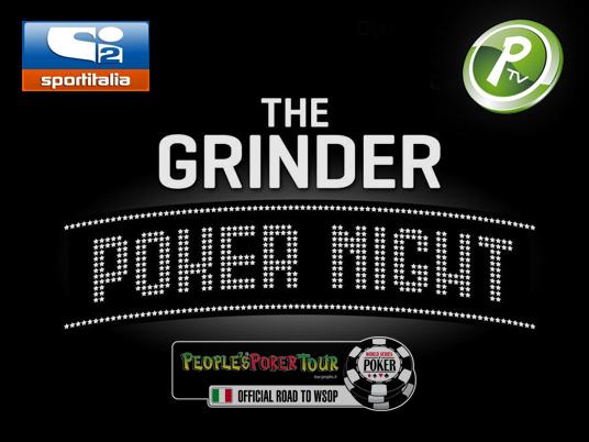 The Grinder Poker Night: questa sera doppio appuntamento sulla People's TV