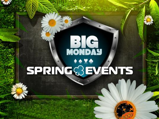 Spring Events: Il Big Monday saluta la Primavera People's con 61mila euro… e ora tutti a tifare Italia!