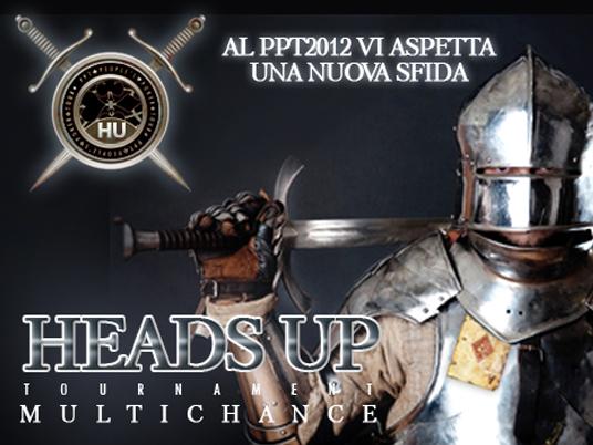 Al PPTour di San Marino l'Heads Up MultiChance sarà ancor più avvincente