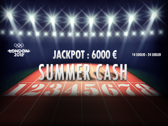 Pronti ai nastri di partenza… la Summer Cash sta per cominciare… e non basterà una vittoria al fotofinish!