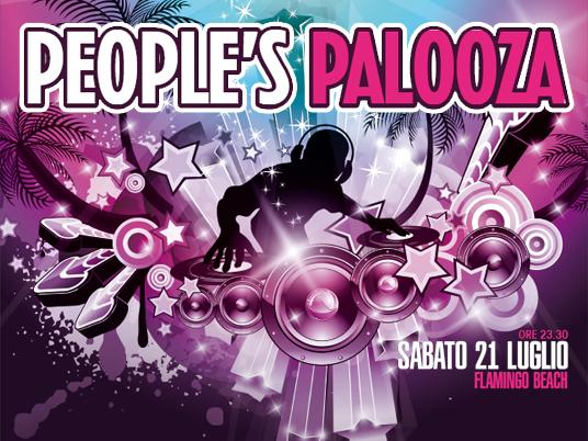 People's Palooza: un inebriante cocktail di musica e colori, nella suggestiva cornice della Riviera Romagnola!