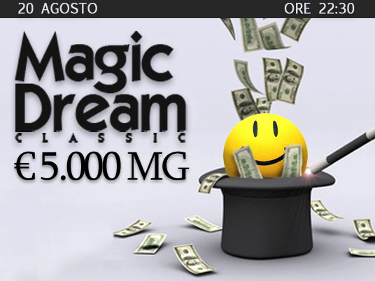"Magic Dream con sorpresa: la ""faccina"" porta il montepremi a 5mila Euro!"