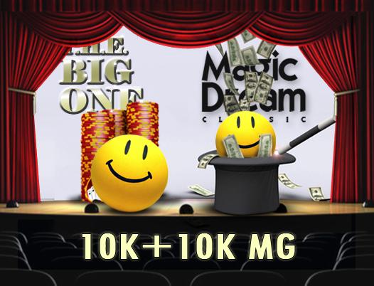Big One e Magic Dream aggiornamento orario – Continua l'offerta 2x10mila di People's Poker!