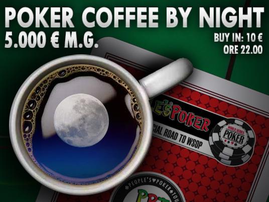 New Poker Coffee by Night: non è mai troppo tardi per un buon caffè!