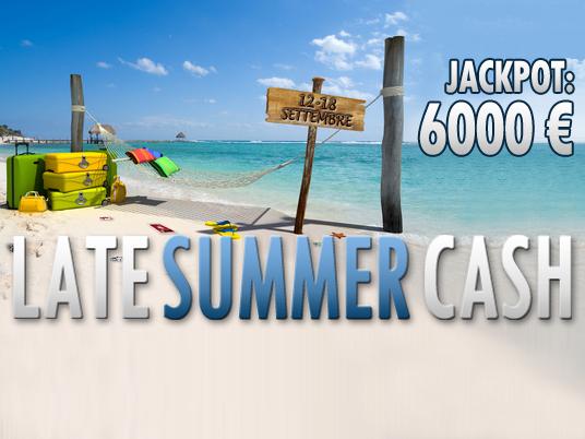 L'estate sta finendo… ma c'è ancora il tempo di una Summer Cash!