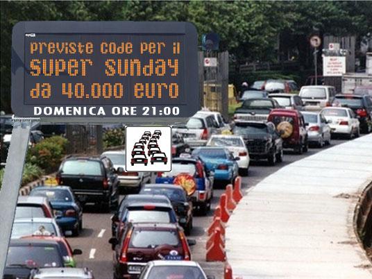Il Super Sunday sfida Lucifero e il controesodo con 40mila euro garantiti!