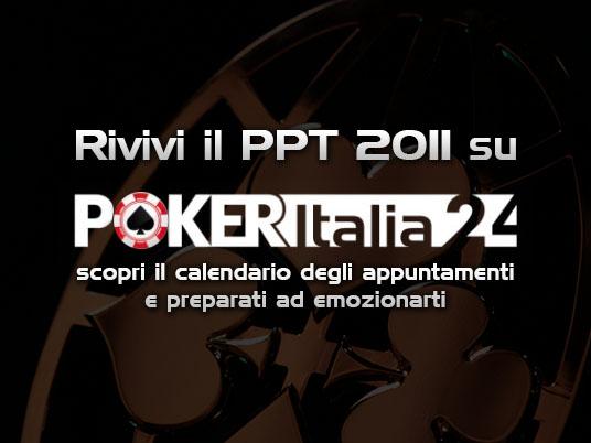 Il People's Poker Tour 2011 in onda  tutte le settimane su POKERItalia24