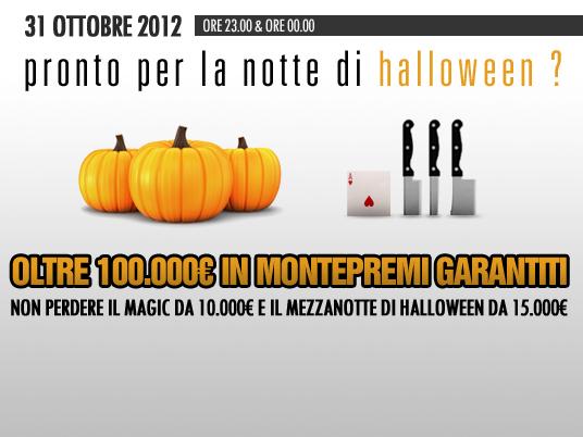 """Altro che scherzetto: con 100mila """"dolcetti"""" People's Poker vi regala un Halloween da paura!"""
