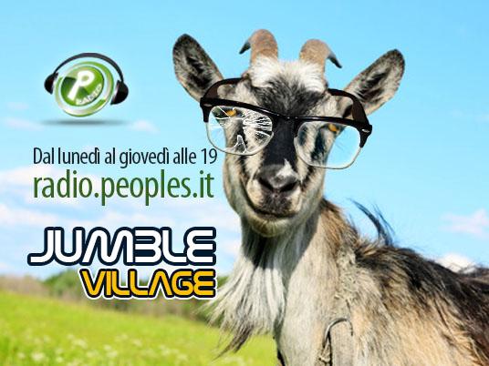 Nella nuova programmazione di People's Radio  quattro giorni di ordinaria follia nel Jumble Village!