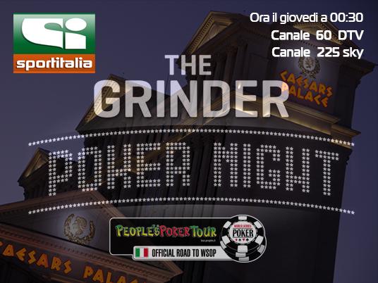 Questa sera The Grinder Poker Night racconta il PPTour di Las Vegas!