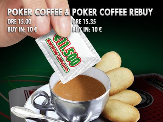 Voglia di Caffè? Al Bar della People's Lobby €11.500 complessivi in poco più di mezz'ora!