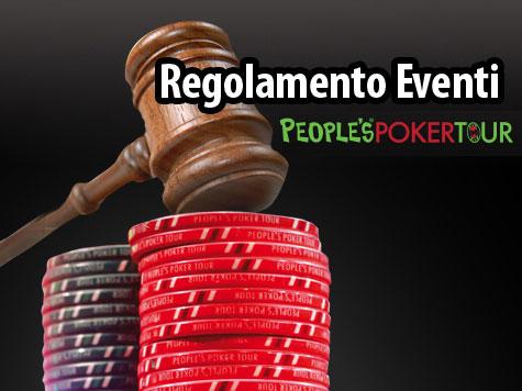 People's Poker Tour – Tutti i Regolamenti
