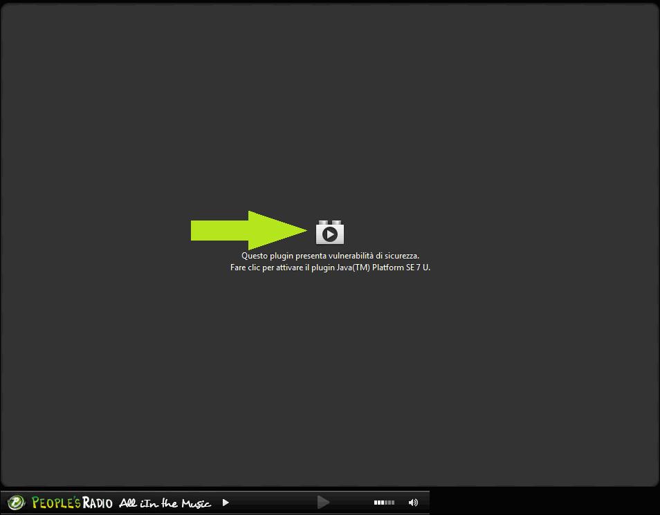 Suggerimento per l'utilizzo del nuovo Client con Mozilla Firefox