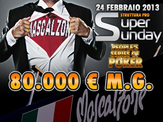 Chiuse le People's Series of Poker,  il premio più ricco va a un Mascalzone!