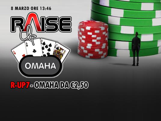 La Raise-Up approda all'Omaha: quattro hole cards per raddoppiare le emozioni!