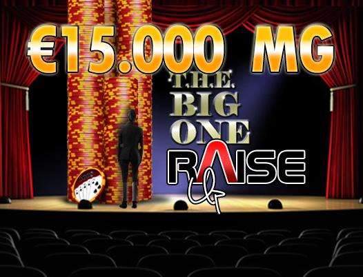 Raise Up già all'evento 4: stasera vi aspettano 15.000 Euro garantiti