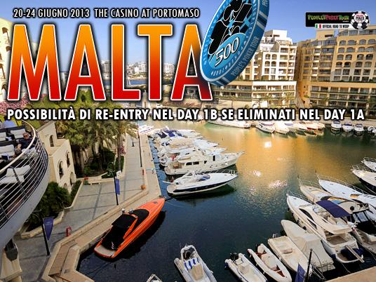 People's Poker Tour 2013 – 2° Evento, Malta
