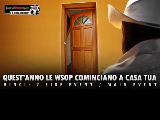 Le WSOP a casa tua: ore 22:15, pronti per lo Shuffle Up and Deal!