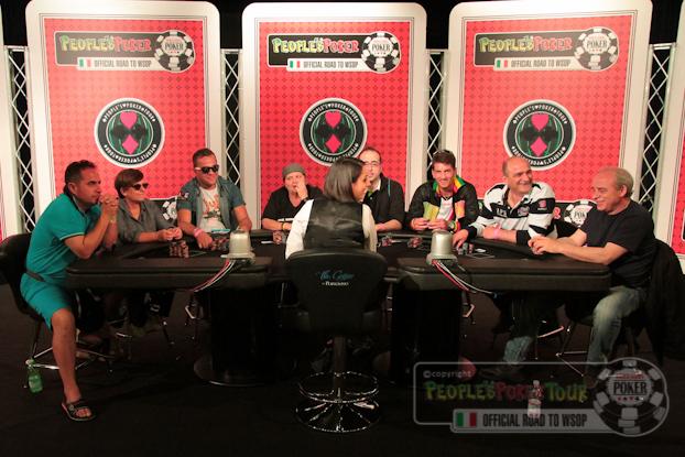 PPtour Malta 2013 – Riflettori accesi sul primo tavolo televisivo!