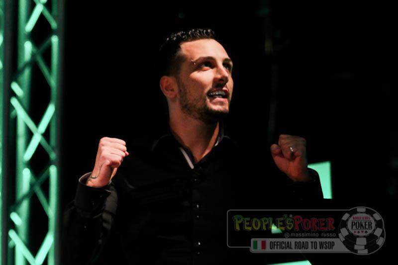 WSOP 2013 – Tutti in piedi per Don Tano: il sogno italiano è appena cominciato!