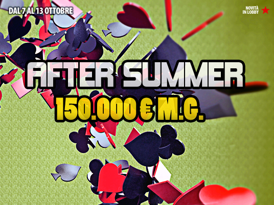 Su People's Poker salutiamo la stagione calda con una settimana rovente da oltre 150.000€ Garantiti!